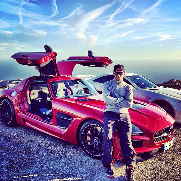 Mercedes Benz G Series: Lewis Hamilton's New Mercedes SLS Black Series