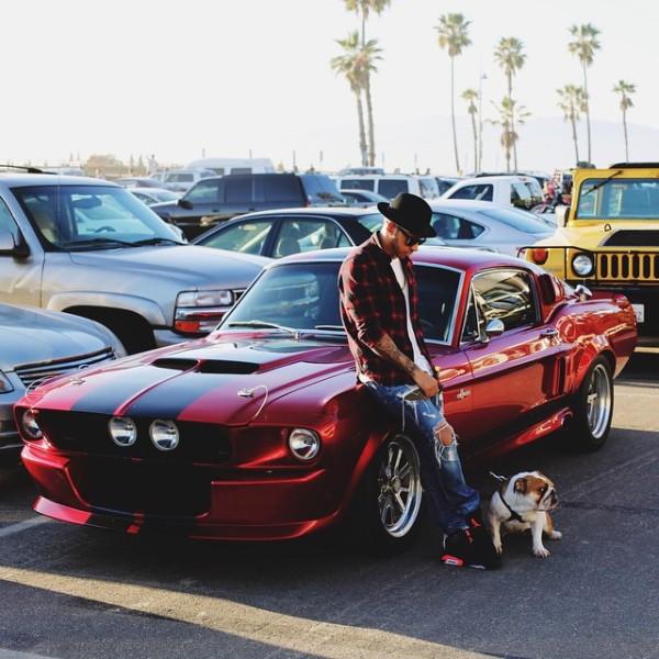 Lewis Hamilton Mustang GT500