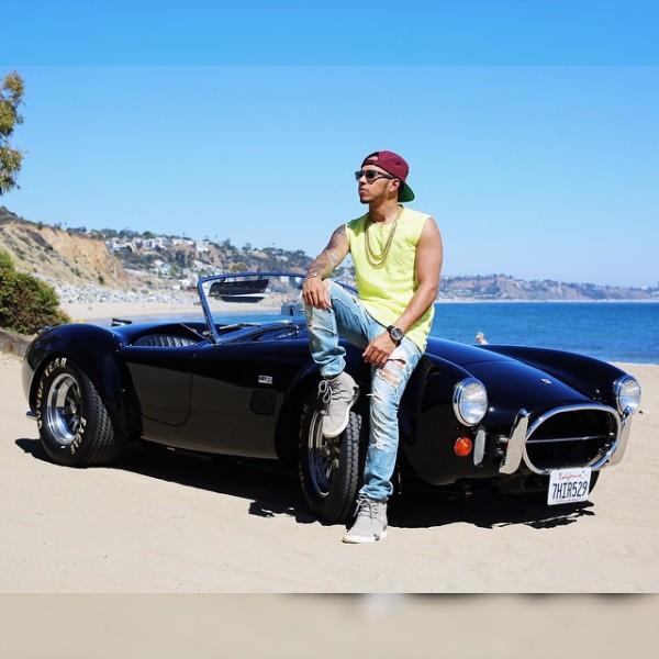 Lewis Hamilton Shelby Cobra
