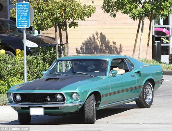 Liam Hemsworth Ford Mustang