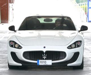 Lionel Messi Maserati MC Stradale