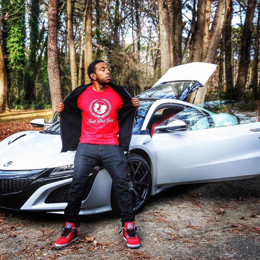 Ludacris Is Now Reppin' A New Acura NSX