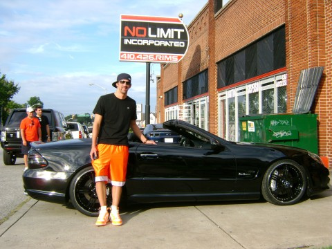 MIchael Phelps Mercedes Benz SL63