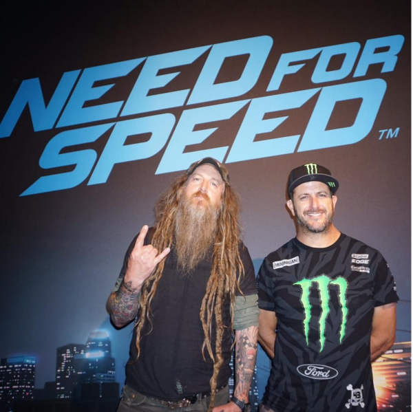 Magnus Walker and Ken Block NEEDFORSPEED