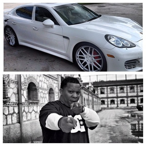 Mannie Fresh Porsche Panamera After