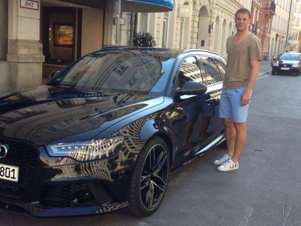 Manuel Neuer Audi