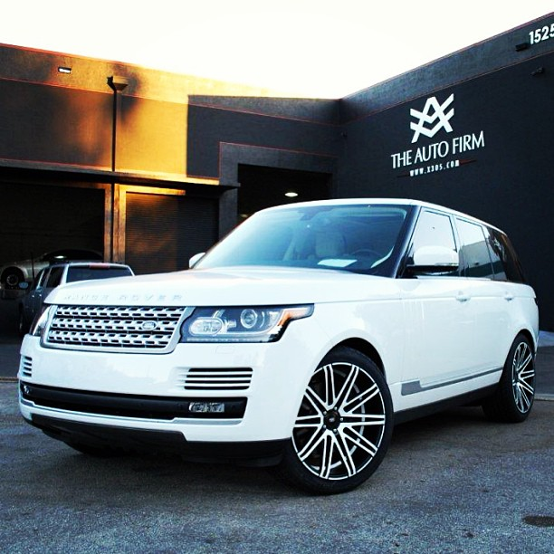 Marcella Araica's 2013 Range Rover By The Auto Firm