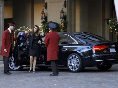Maria Shriver Valets Her Audi A Celebrity Cars Blog - Audi car valet