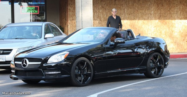 Mariah Carey Mercedes Benz SLK