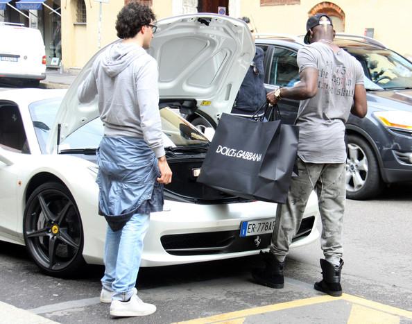 Mario Balotelli Ferrari