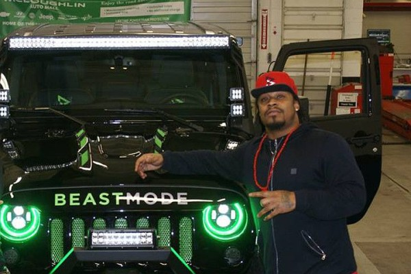 Marshawn Lynch Jeep Auction
