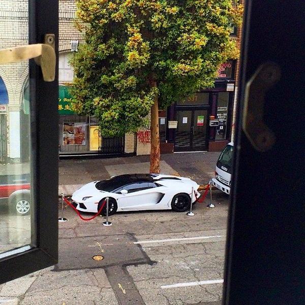 Marshawn Lynch Lamborghini