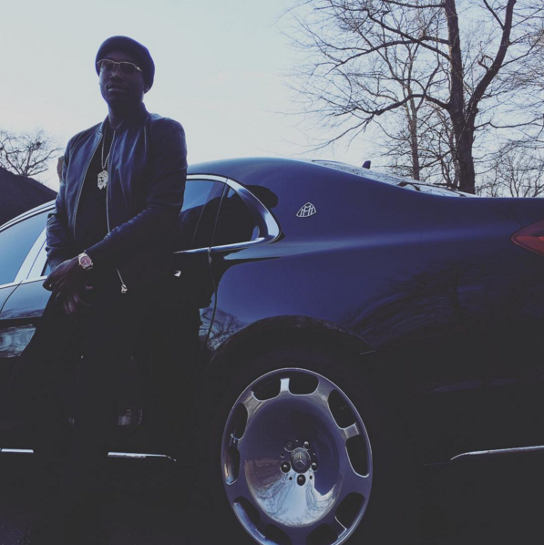Meek Mill S New Maybach S600 Celebrity Cars Blog