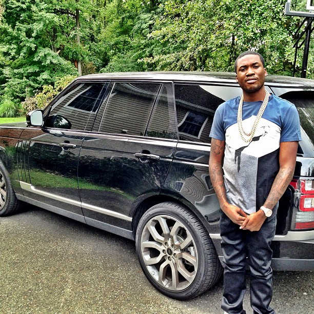 Meek Mill's New Range Rover