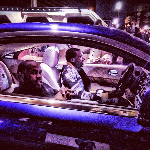 Meek Mill Rolling In A Rolls Royce Wraith Celebrity Cars
