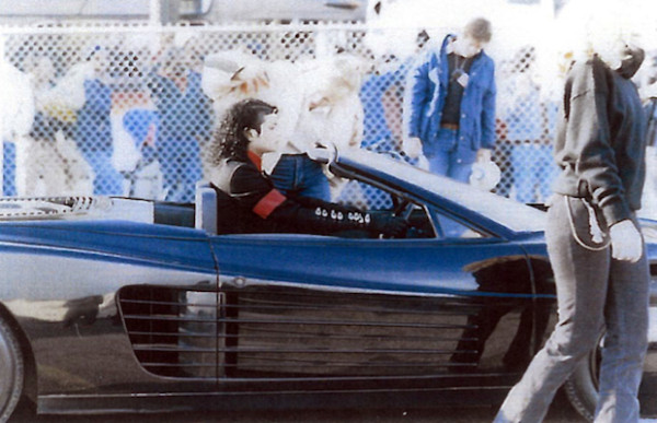 Michael Jackson Ferrari from Pepsi