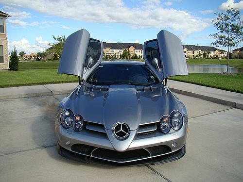 Michael Jordan S Mercedes Slr 722 For Sale On Ebay Celebrity Cars Blog