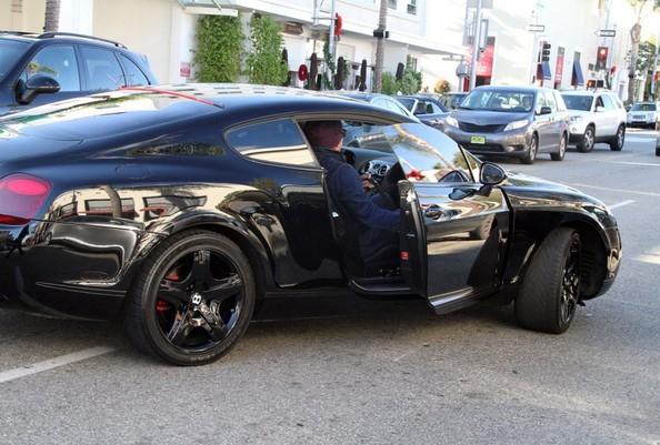Mickey Rourke Bentley Continental
