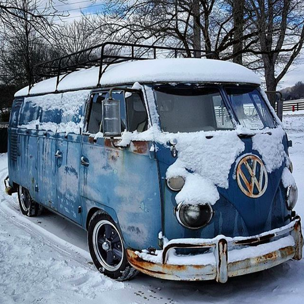 Mike Wolfe 1962 VW Volkswagen Panel Van Bus