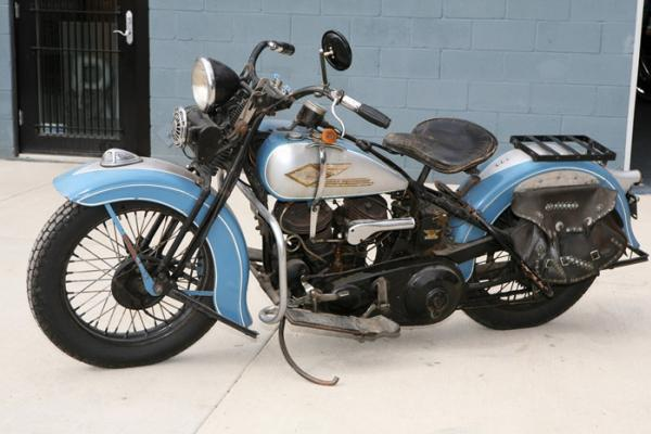Mike Wolfe Indian Motorcycles
