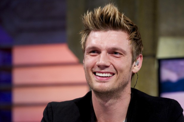 nick carter falling down