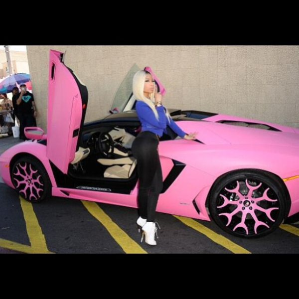 Top 5 Celebrities That Drive Pink Celebrity Cars Blog