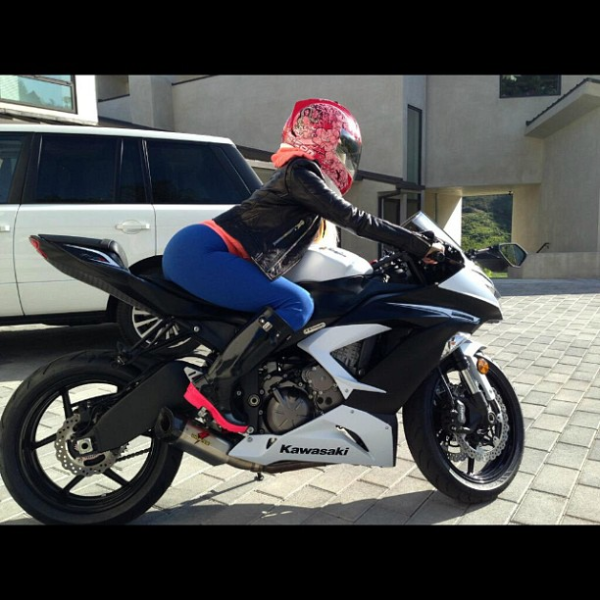 Nicki Minaj Motorcycle