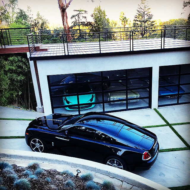Rolls Royce Wraith For Sale >> Nicky Diamonds' Garage Is Complete | Celebrity Cars Blog