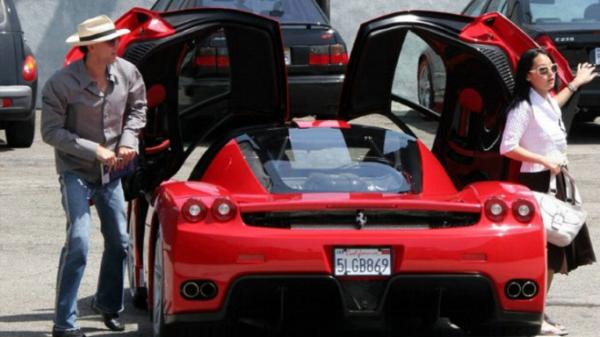 Nicolas Cage Ferrari Enzo