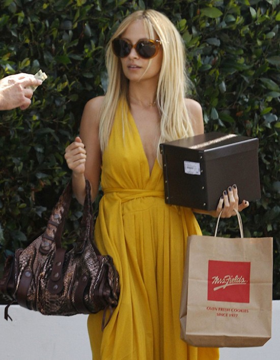 Nicole Richie Chloe Silverado celebrity handbags