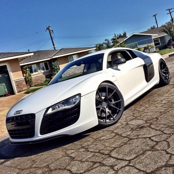 Nyjah Huston Audi R8