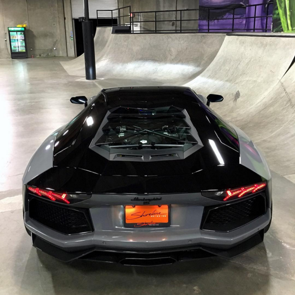 Nyjah Huston Custom Aventador