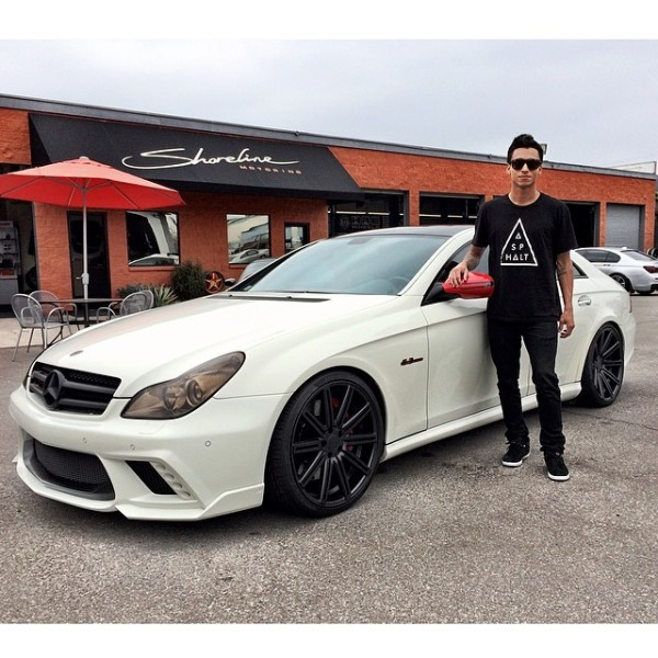 Nyjah Huston Mercedes