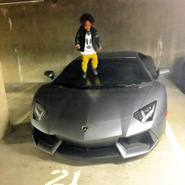 Obafemi Martins Lamborghini Aventador