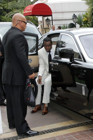 P Diddy Rollin In A Rolls Celebrity Cars Blog