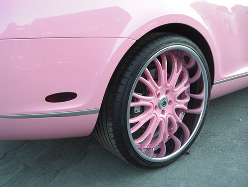 Paris Hilton's Bentley Continental GT Coupe Wheels