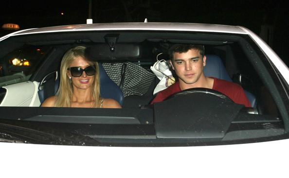 Paris Hilton Lexus