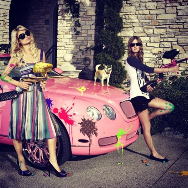 Paris Hilton Nicky Hilton Bentley