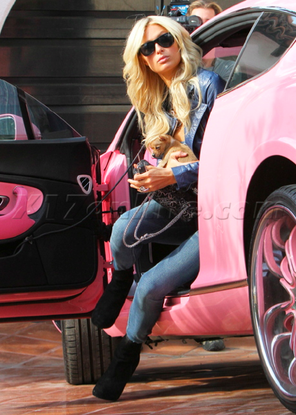 Paris' Pink Bentley is Back
