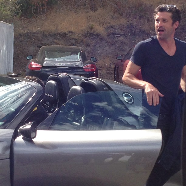 Patrick Dempsey Gets His Hands On The Porsche 918
