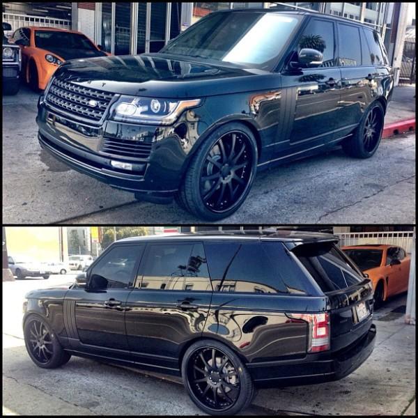 Petra Ecclestone Range Rover