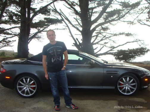 Phil Collen Aston Martin DB9