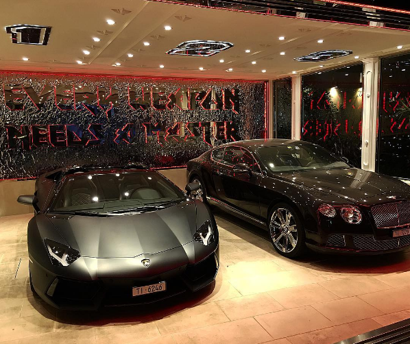 Philipp Plein Lamborghini Bentley
