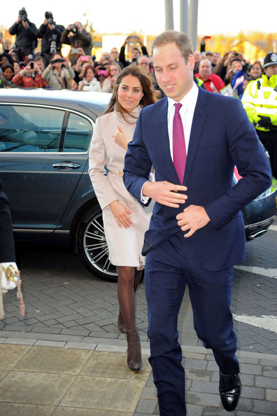Prince William Kate Middleton Bentley Flying Spur