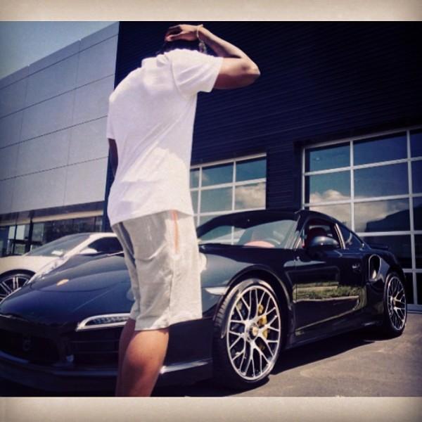 Pusha T Porsche