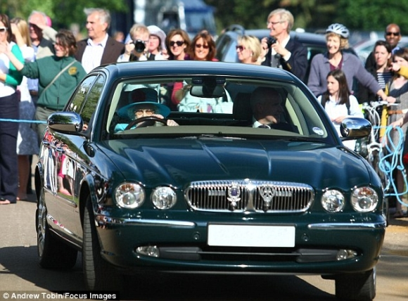 Queen Elizabeth Jaguar