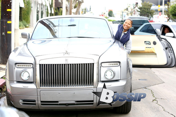 Queen Latifah Rolls Royce