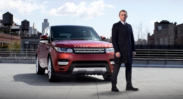 Range Rover Sport Daniel Craig