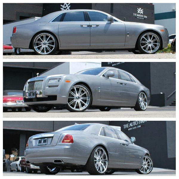 Ray J Rolls Royce Ghost