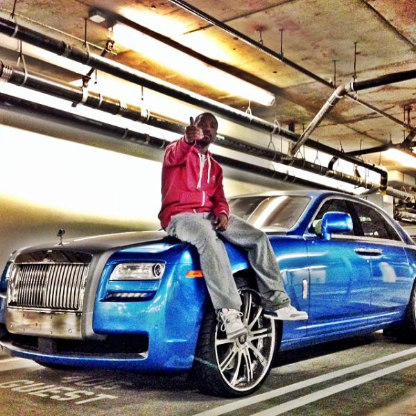 Ray J Rolls Royce